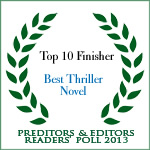 Top Ten 2013 Thriller Category