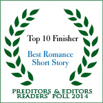 Top Ten Romance Short Story, P&E Readers Poll